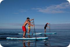 Competencia de Paddel en las costas de Barahona1