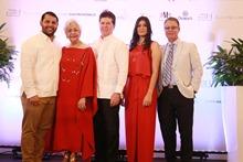Principal PRIMERA OPCION Rodrigo Diaz, Esperanza Lithgow, Luis Ross, Madelline Abreú y Luis José Chavez