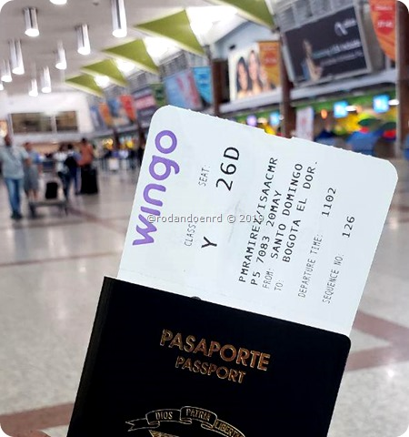 Ticket aereo Wingo