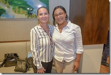 Sandra Fossar y Roseli Villavisencio