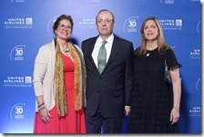 Alice Heinsen, Carl Carlson y Soraya Carlson