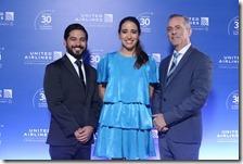 Edwin Herrera, Helena Posada y Erick Blanchard